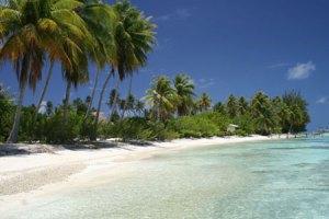 spiaggia a fakarava