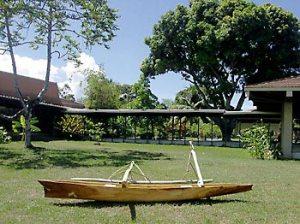 piroga tradizionale-al-museo-delle-isole